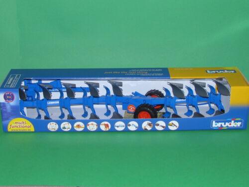 Bruder 02250 Lemken Aufsattel Drehpflug Vari Titan Blitzversand per DHL-Paket