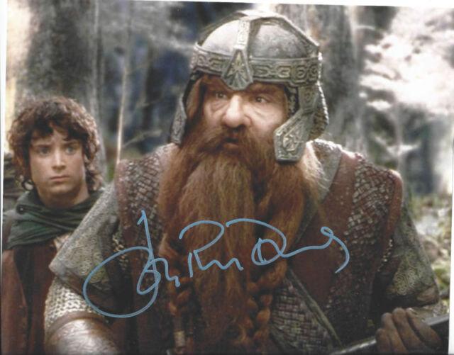 John Rhys-Davies ++ Autogramm ++ Herr der Ringe ++ James Bond ++ Indiana Jones 2