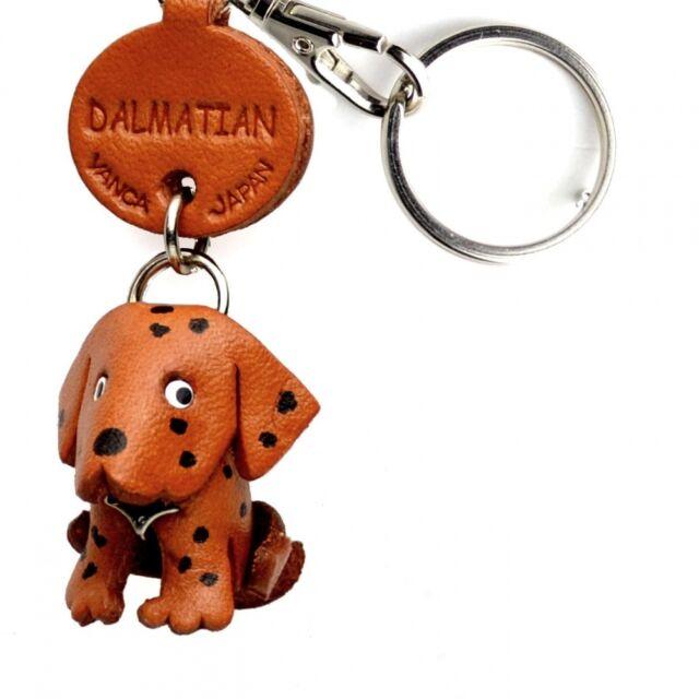 Schnauzer Handmade 3D Leather Dog Keychain *VANCA* Keyring Made in Japan #56754