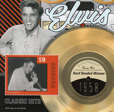 Grenada 2013 MNH Elvis Presley Classic Hits IV 1v S/S 1958 Hard Headed Woman