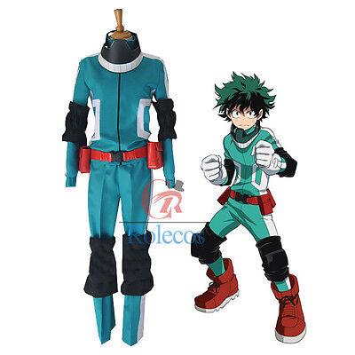 Midoriya Izuku My Hero Academia Boku no Hero Academia fighting Cosplay Costume#n