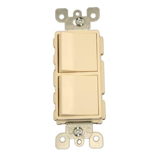 Leviton 15 Amp Commercial Grade Two 3