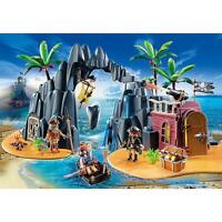 Playmobil 6679 Pirate Treasure Island Playset Ages 4-10
