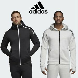 Adidas-Mens-ZNE-Fast-Release-Hoodie-Fullzip-Hooded-Jacket-Free-Tracked-Post-2XL
