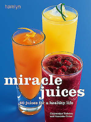 """AS NEW"" Amanda Cross, Miracle Juices Book"
