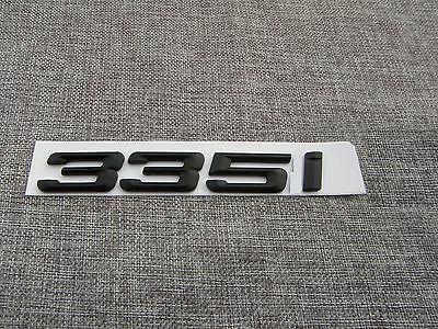 Black 550 i  Number Trunk Letters Emblem Badge Emblems Badges for BMW 550i
