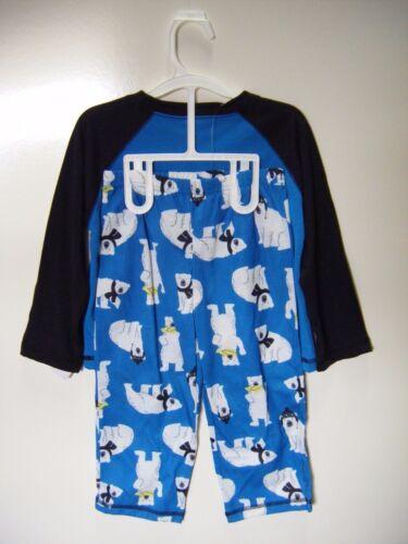 Carter/'s Just One You 2-Piece Holiday//Christmas Polar Bear Boys Fit Pajama Set