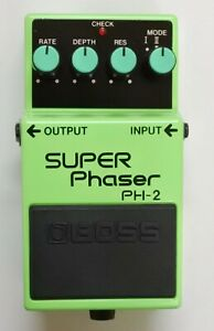 BOSS-PH-2-SUPER-Phaser-Guitar-Effects-Pedal-1994-40-Free-Shipping-with-Box
