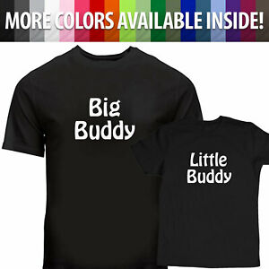 Big-Buddy-Shirt-Little-Buddy-Funny-Tee-T-Shirt-Gift-Father-and-Son-Family-Shirts
