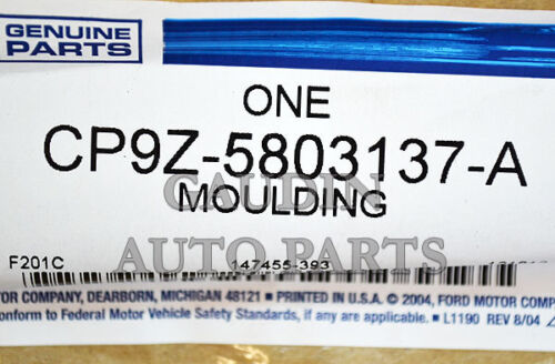 FORD OEM 12-18 Focus Reveal-WINDSHIELD-molding Left CP9Z5803137A
