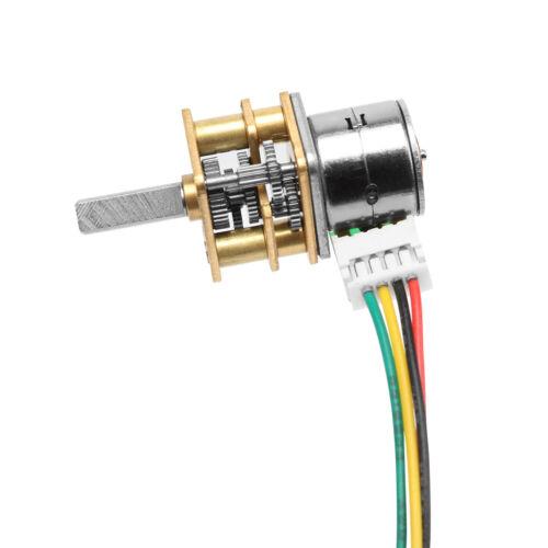 GM1024BY10-10D 5V 5RPM-150RPM par de motor de engranajes motor electrónico DC reducción