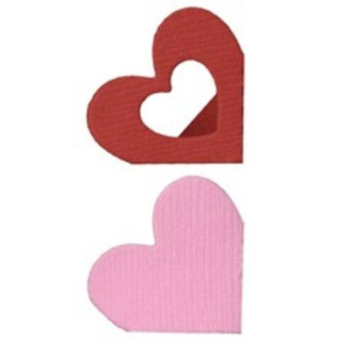 "Quickutz//Lifestyle Crafts DD0029  /""Heart Photo Corners /"" 2  2x2Cutting  Dies NEW"