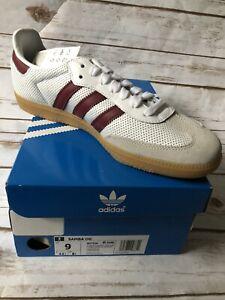 Adidas Samba OG Men Shoes 9 Cloud White