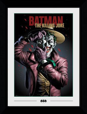 DC Comics Killing Joke Cover Batman Villains 50x70cm Framed Collector Print