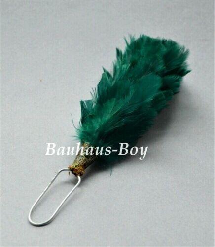 FEATHER HACKLE GREEN GLENGARRY /& BALMORAL HATS PLUME SCOTTISH HIGHLAND KILT WEAR