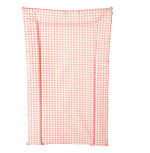 Brand new Kit for kids changing mat in pink gingham in large size 71cm x 50
