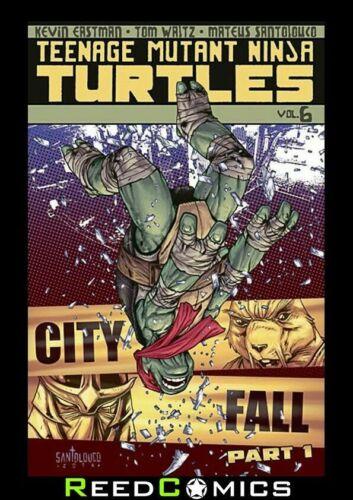 TEENAGE MUTANT NINJA TURTLES VOLUME 6 CITY FALL PART 1 GRAPHIC NOVEL #21-24