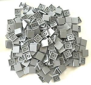 6 LEGO Parts~ Tile 2 x 2  LIGHT BLUISH GRAY 3068