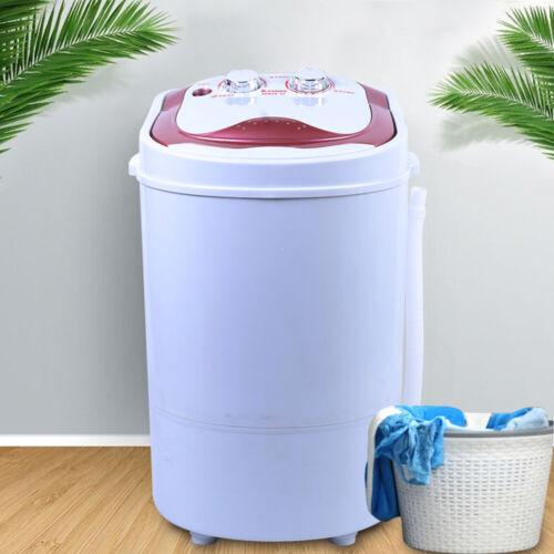 2 in 1 Mini Waschmaschine ABS 6kg Home Waschautomat Dehydration Washing Machine