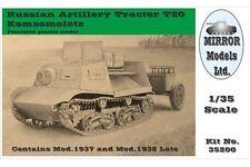 Mirror Models 35200 1/35 Russian Artillery Tractor T20 Komsomoletz