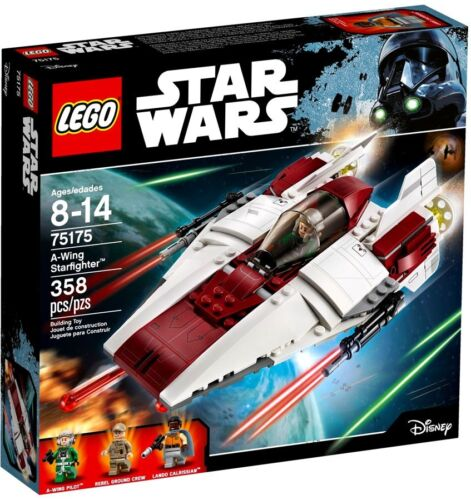 LEGO Star Wars A-Wing Starfighter Exclusive Set #75175