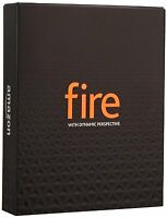 NEW Amazon Fire Phone - 64GB - Black 4G LTE (AT&T) Smartphone