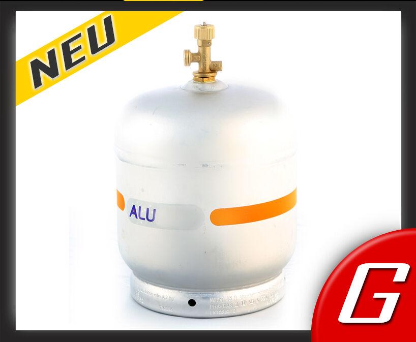 ALU 2,7 kg Marine mini Gas Flasche Propan Gasflasche Alugasflasche Alu 5 2 3 LPG