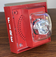 Siemens S Lp70 Mcs Speaker Strobe Fire Alarm Red