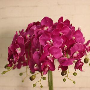 Hot 7bundle silk phalaenopsis bulk wholesale artificial flowers la foto se est cargando hot 7bundle silk phalaenopsis bulk wholesale artificial flowers mightylinksfo