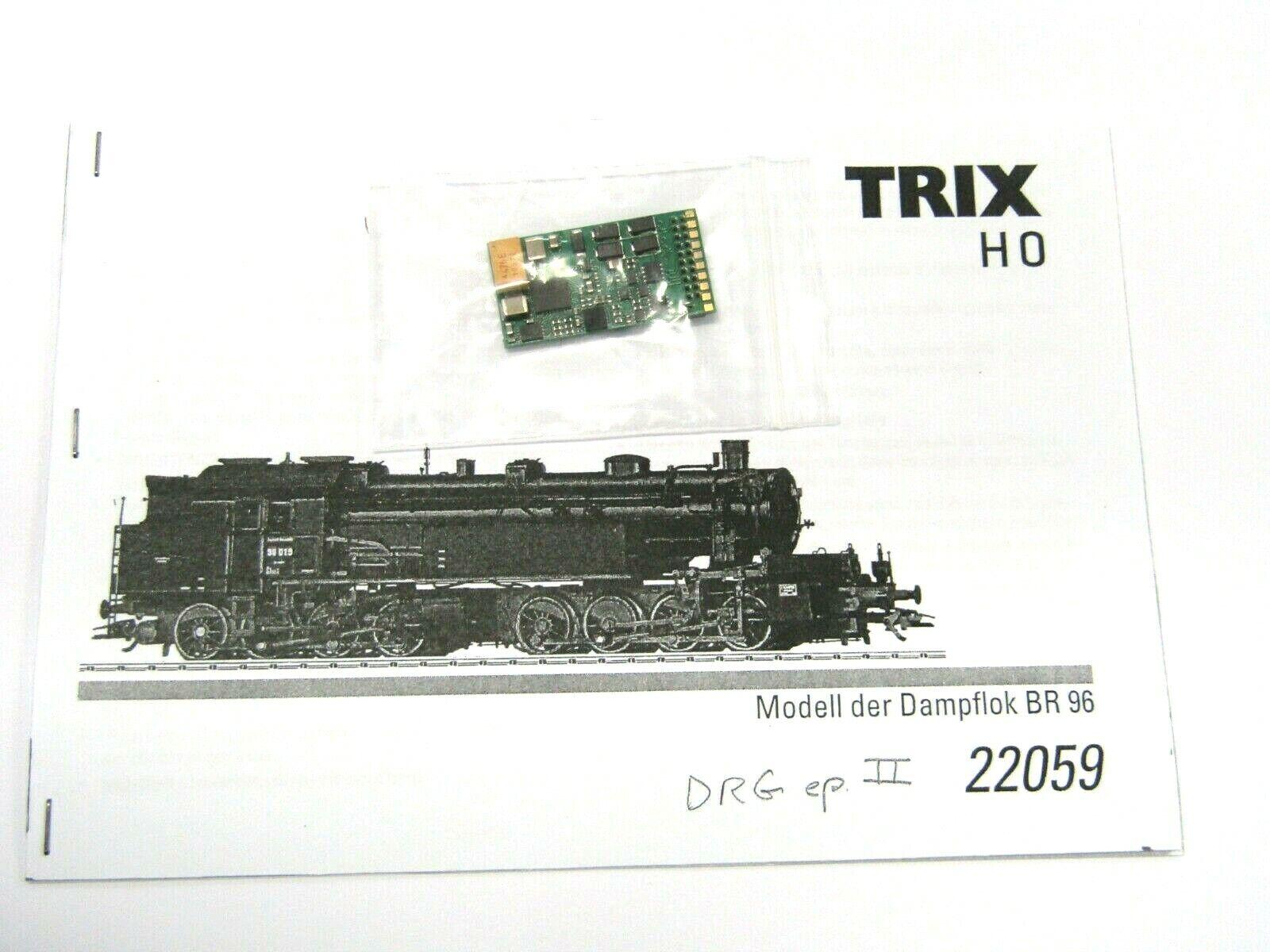 TRIX RICAMBIO ORIGINALE DECODER MFX PER BR 96 ART. 22059