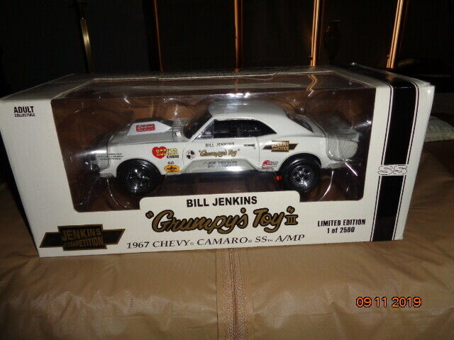 1967 Chevy Camaro SS A MP Grumpy's Toy 1 18 Scale Die Cast Metal