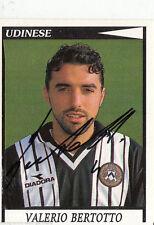 Valerio Bertotto Udinese Calcio Panini Sammelbild 1998-99 TOP +A41607