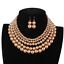 Fashion-Women-Crystal-Necklace-Bib-Choker-Pendant-Statement-Chunky-Charm-Jewelry thumbnail 142