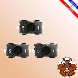 3x-MicroTaster-fuer-FORD-Ka-Fiesta-Focus-Escort-Schluessel-Taster-Fernbedienung