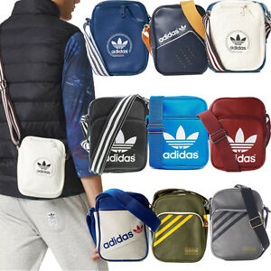 adidas originals schultaschen herren jungen m dchen mini taschen schultertaschen ebay. Black Bedroom Furniture Sets. Home Design Ideas