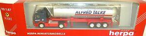 Alfred-Talke-TRACTEURS-ET-REMORQUES-Herpa-141581-1-87-H0-emballage-d-039-origine-A
