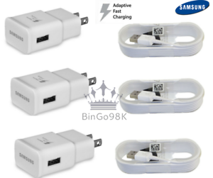 Genuine-Samsung-Galaxy-S6-S7-Edge-Note4-5-Adaptive-Fast-Rapid-Charger-Mic-cable