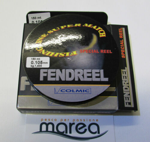 dal Ø 10 al 35 Made in Japan Monofilo COLMIC FENDREEL 150 mt