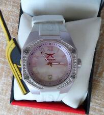 Carrera Woman's Watch White Pink Cool CW069292005 / Reloj marca Carrera