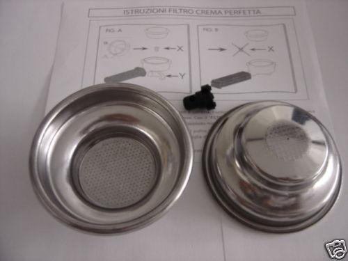 cialde 1 tazza GAGGIA filtro crema perfetta+adatt