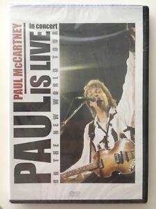 Paul-McCartney-Live-in-concert-on-the-new-world-tour-DVD-NEUF-SOUS-BLISTER