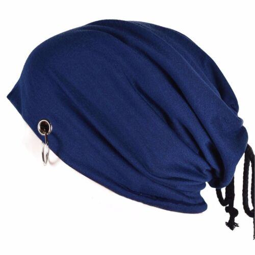 Men Women Warm Winter Knit Ski Beanie Skull Slouchy Oversize Ring Cap Hat Unisex