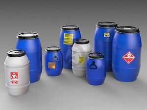 Royal Model 135 Plastic Chemical Water Storage Containers Drums