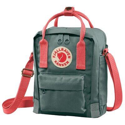 Fjällräven Kanken Sling Bag lTasche Umhängetasche Schultertasche Black//Ox Red