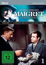 Maigret Vol. 1 * DVD  6 Folgen der Serie mit Bruno Cremer nach Roman Pidax Neu