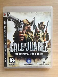 Sony-PS3-Call-of-Juarez-BOUND-IN-BLOOD-Shotting-Playstation-3-Game-PAL-Mint-16