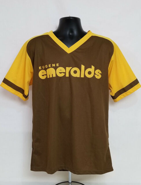 new product d9945 9c14d Details about Eugene EMERALDS Bi-Mart Promo BASEBALL JERSEY Padres  THROWBACK Retro ADULT XL