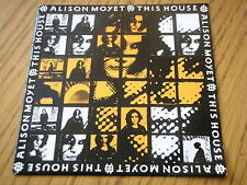 "ALISON MOYET - THIS HOUSE  7"" VINYL PS"
