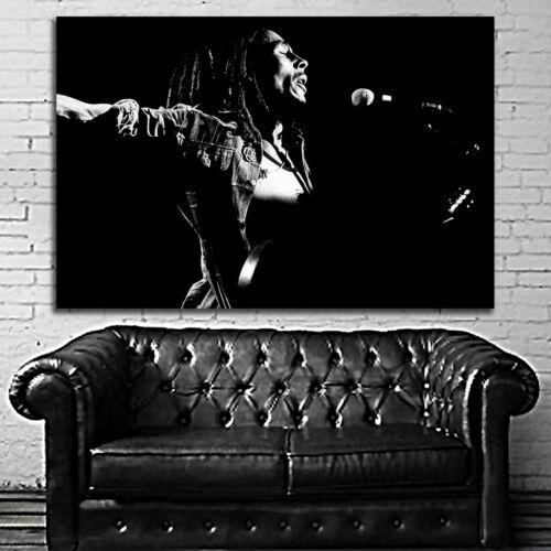 #06 Bob Marley Reggae Jamaica Music Muscian 40x60 inch More Sizes Large Poster