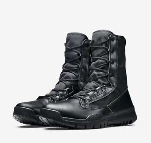 new concept 5c619 707ab Image is loading NIKE-SFB-FIELD-8-034-BLACK-TACTICAL-MILITARY-